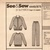 Butterick 4449 Misses Jacket, Top, Pants 80s Vintage Sewing Pattern UNCUT XS 6,