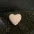 Rose heart bath bomb