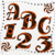 ABC and Numbers 53a-Digital ClipArt-Fonts-Art Clip-Fire-Gift