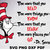 The more that you Read Know Learn Go svg, Cat In The Hat png, One two fish svg,