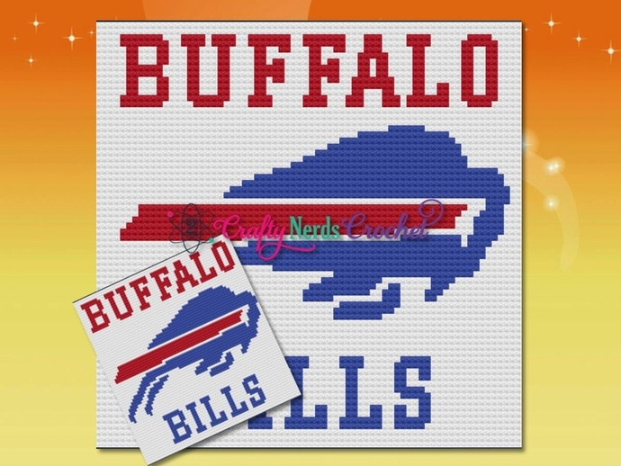 Buffalo Bills Pattern Graph With C2C Written