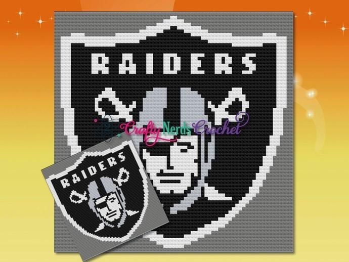 Raiders Pattern Graph With C2C Written