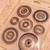 Destash Mixed media Circles stamps set - NEW