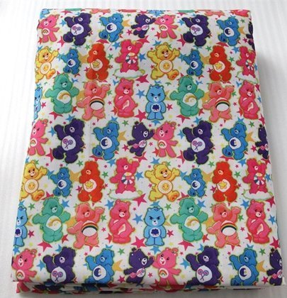 care bears poliester and cotton fabric  (a half of a yard)