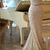 Spaghetti Strap Mermaid Sequin Evening Dresses Latest Natural Sweep Train Party