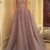 Tulle Appliques Prom Dress, Sleeveless Evening Dresses, Sexy Long Prom Dresses