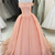 Charming Prom Dress, Sleeveless Ball Gown Prom Dress, Appliques Long Prom Dress,