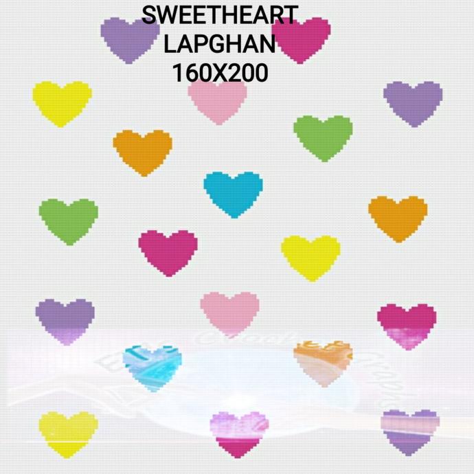 Sweetheart Lap or Toddler Throw-SC-160x200