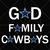 God Family Cowboys SVG, Cowboys Logo, Dallas Cowboys SVG, Cowboys vector, NFL