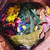 ONE LB 1 Pound Vintage Beaded Boho snippet Clusters Mixed LEFTOVERS Lot, Junk
