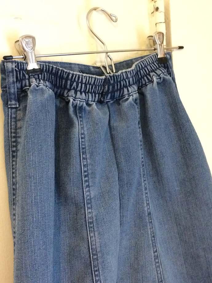 Budget Ladies Upcycled Denim Skirt