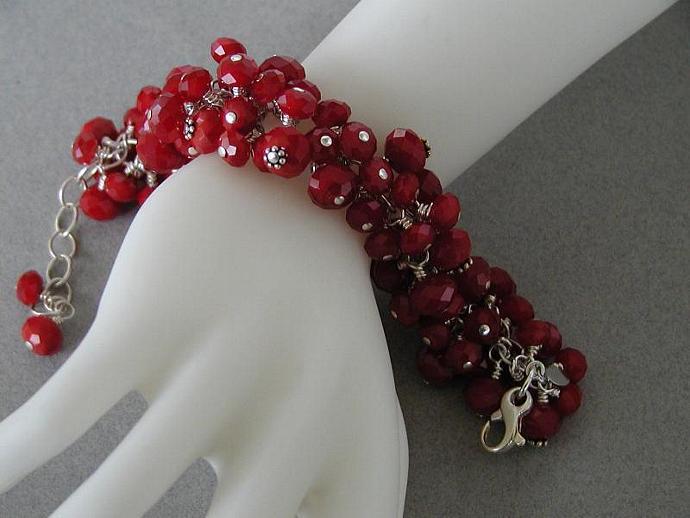 Red Velvet Bracelet