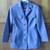 Vintage womens pantsuit suit pants jacket charcoal gray XS work clothes