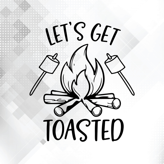 Let's get toasted svg, Camping life svg, Camping svg, Adventure svg, Mountain