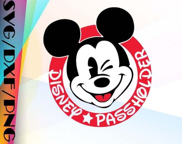 Mickey Passholder, Disney svg, Disney Mickey and Minnie svg,Quotes files, svg