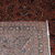 Handmade antique Persian Sarouk rug 3.9' x 5.3' (119cm x 161cm) 1920s - 1B823