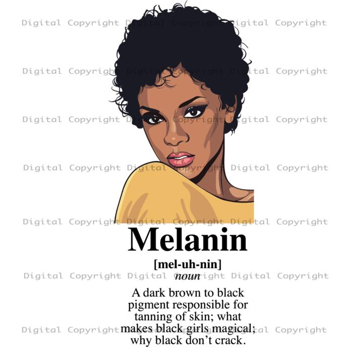 Melanin sexy svg, Black Girl Svg, Black Girl Magic, Black Girl Magic svg, Black