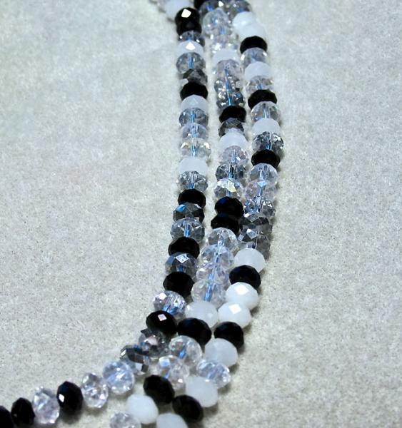 Winter Solstice- faceted crystal beads