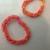 Medium Pink Lemonade loom Bracelet