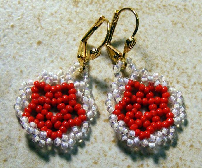 Sweet Red Earrings