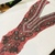 L55 Vintage Beaded Boho MEDIUM - LARGE Piece, Junk Journal Embellishments,