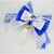 Dolls of Mykonos White and Blue Bow Tie for Cats, Summer 2021, Catwalk