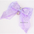 Moonlit Mercat Lavender Fish Scale Bow tie for Cats, Kawaii Pet Accessories,
