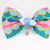 Mermaid Scale Print Cat Bow Tie, Pet Accessories, Summer 2021
