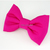 Hot Pink Bow Tie for Cats, Solid Color, Pet Accessories, Removable, Spring,