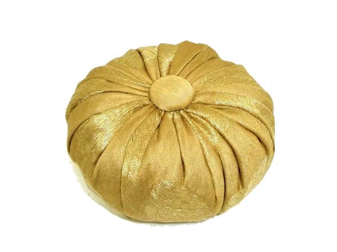 Lavender Sachet in Gold on Gold Silk Brocade