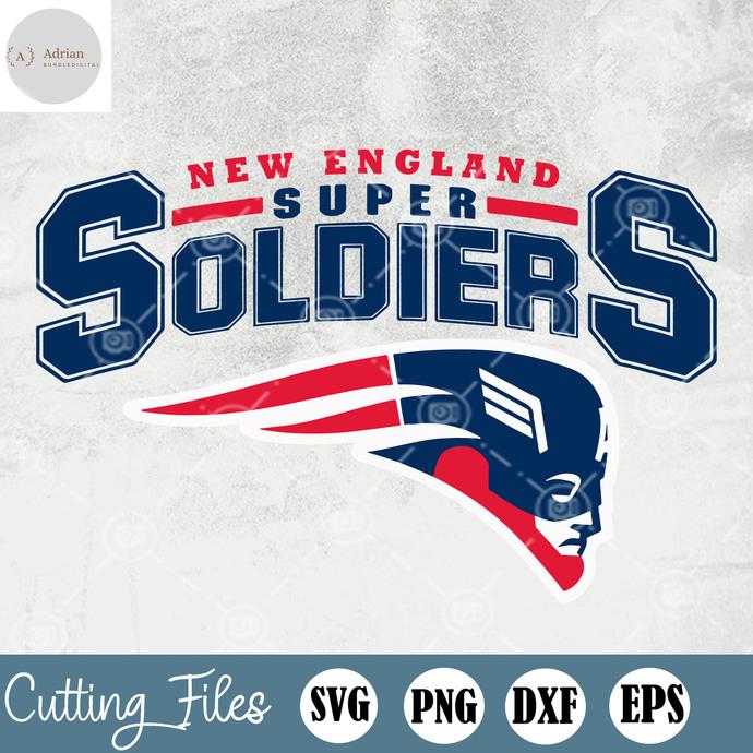 New England Patriots, New England Patriots SVG, New England Patriots EPS, New