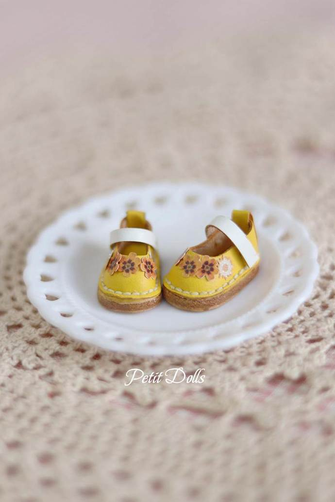 Middle Blythe Shoes/OB11 OBITSU11 Shoes/Handmade doll shoes/PetitDolls