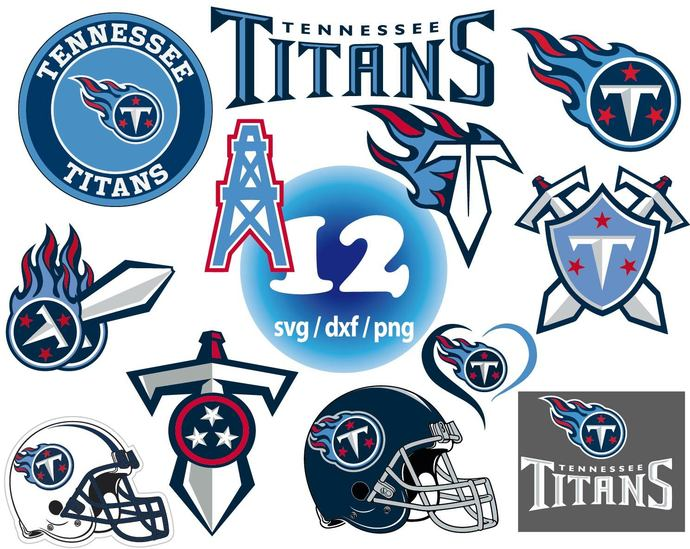 Tennessee Titans Svg Football Team Logo Svg By Clipartstore On