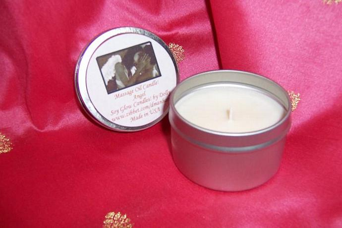 Massage Oil-Soy Candle-Angel