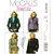 McCall's 4973 Misses Jacket Sewing Pattern Size 8, 10, 12 Princess Seams, Semi