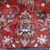Handmade vintage Persian Sarouk rug 8.8' x 12.2' (261cm x 364cm) 1960s - 1Q0064