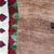Handmade vintage Persian Gabbeh rug 4.1' x 5.6' (123cm x 166cm) 1980s - 1Q0091