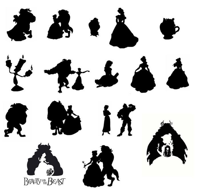 Beauty Beast svg,cut files,silhouette clipart,vinyl files,vector digital,svg