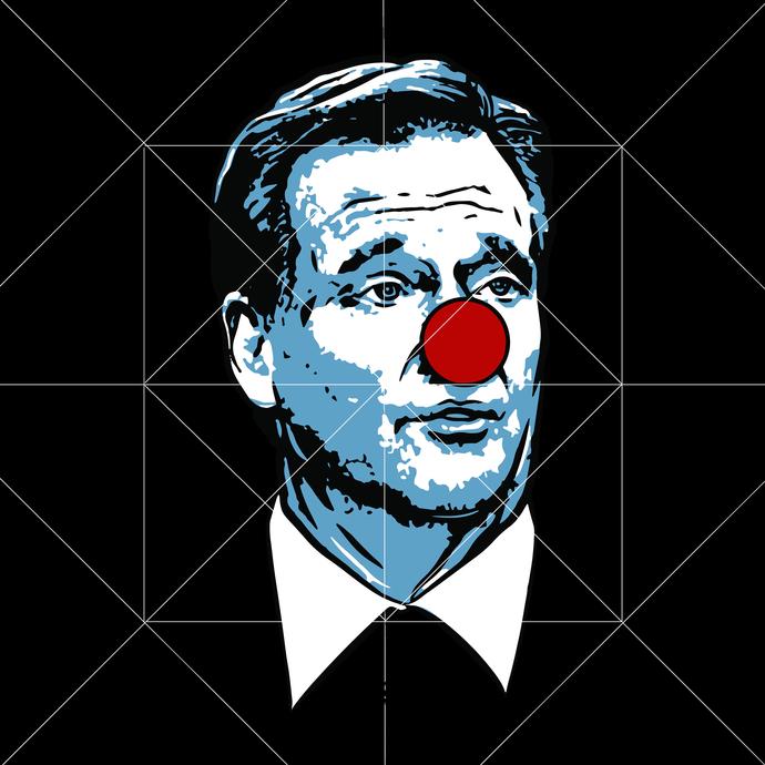 Roger Goodell Clown Svg Logo, Goodell Clown Svg, Sport Football Svg, Goodell