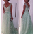 Green Prom Dresses Long,Sparkly Prom Dresses A-line,Elegant Prom Dresses