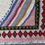 Handmade vintage Persian Ardabil kilim 3.3' x 3.7' (100cm x 113cm) 1970s -