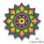 Mandala embroidery machine design pes pattern instant digital download