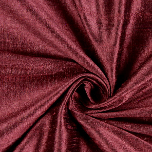 Lavender Sachet in Burgundy Colored Dupioni Silk with coordinating Button