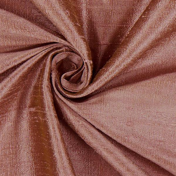 Lavender Sachet in Antique Rose Dupioni Silk with Burgundy Silk Button