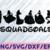 Squad Goals SVG, Princess Squadgoals SVG and png, Squad Goals, Princess Svg