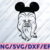 Star Wars Chewbacca with Mouse ears, Disney svg, Disney Mickey and Minnie