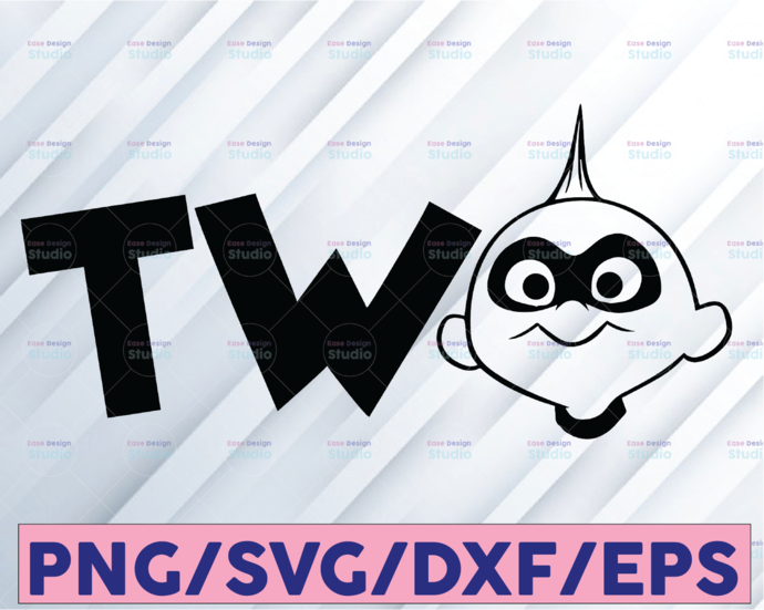The Incredibles Birthday Two, Disney svg, Disney Mickey and Minnie svg,Quotes