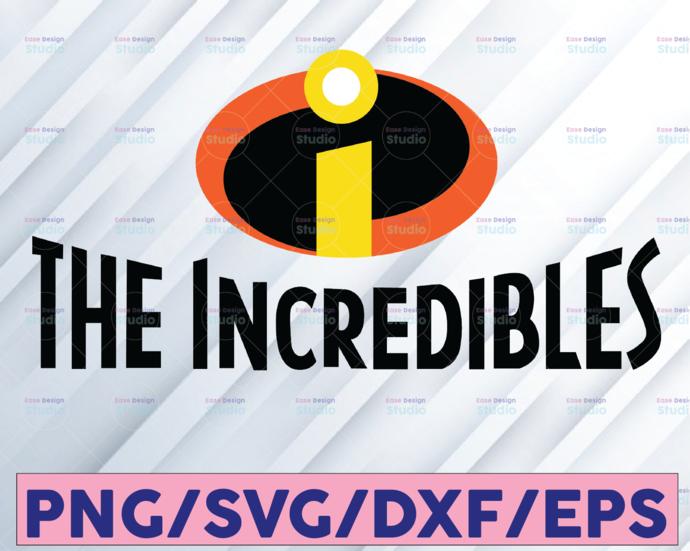 The Incredibles SVG EPS PNG jpg dwg Digital Download / Digital Vector Clipart