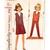 Simplicity 6213 Teen Girls Retro Top, Skirt, Skinny Pants 60s Vintage Sewing