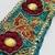 T202 Vintage Beaded Boho Trim Piece, Junk Journal Embellishments, Beaded scraps,
